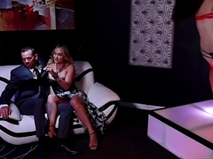 The Stripper Experience - Claudia Valentine gets her ass fucked by a big dick