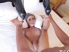 Dirty doxy gets anal fucked