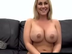 Big Tit MILF Assfuck on Casting Couch - QueenPornCams.com