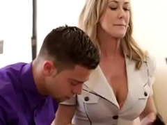 Moms Teach Sex - Mom licks jizz from stepdaughters