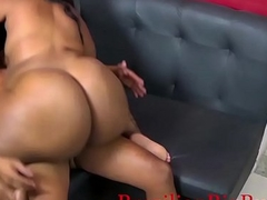 BrazilianBigButts.com WatermelonButt Big Booty Girl Fucking Hard on the Couch