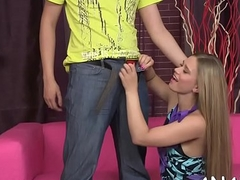 Lusty rear pummeling for pleasing legal age teenager