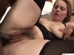 Magda wants to try some black cock