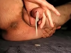 Amateur Jack and Cum with SloMo