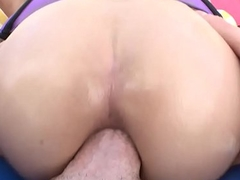 Small Tits Latina Whore Getting Anally Rekt Pt 3
