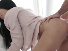Doggystyle fucked euro model enjoys sex