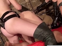 XL strapon for slave'_s ass