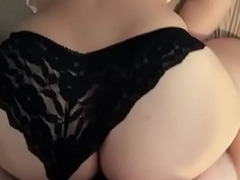 The girl with a big ass in black panties fucked with me - buyusedpanties.info