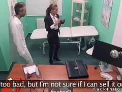Real estate agent bangs in fake hospital