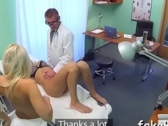 Lascivious doctor bonks inside fake hospital