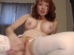 sex crazed wife fucks her pussy on camera